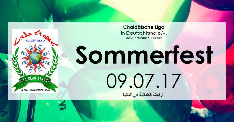 Einladung zum Sommerfest der Chaldäischen Liga