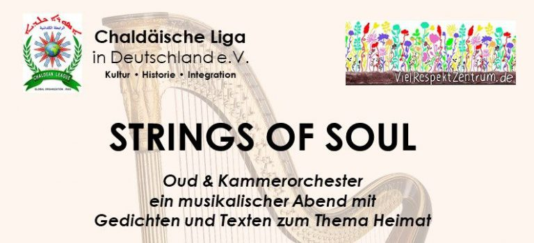 STRINGS OF SOUL – Oud Ensemble – 28.11.19